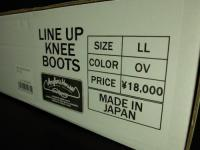 Angler's House/Line Up Knee Boots  LL-OV