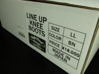 Angler's House/Line Up Knee Boots  LL-BN